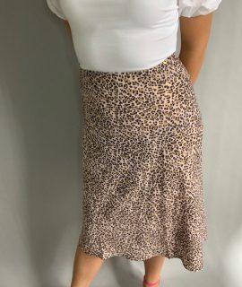 Panter Print Skirt