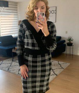Classy Dress Paris Black